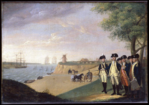Washington and his Generals at Yorktown